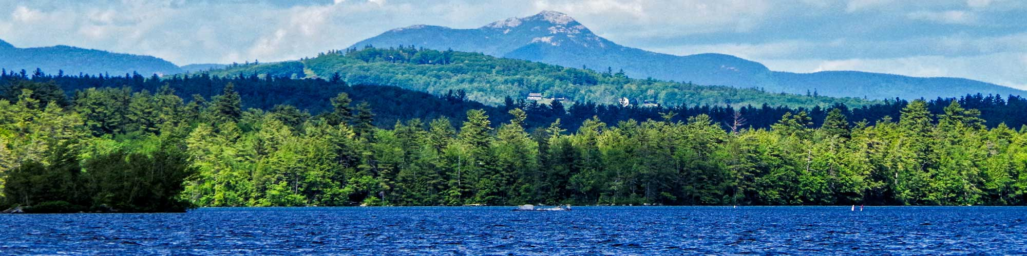 View of Mt. Chocorua from Squam Lake