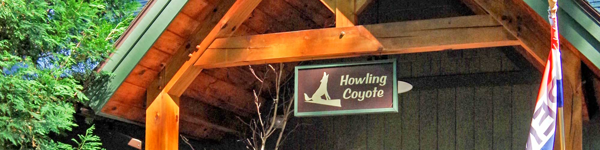 Entrance to the Howling Coyote Gift Shop
