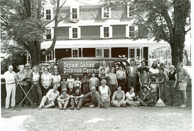Clean Up Day 1973 in front of the Holderness Inn