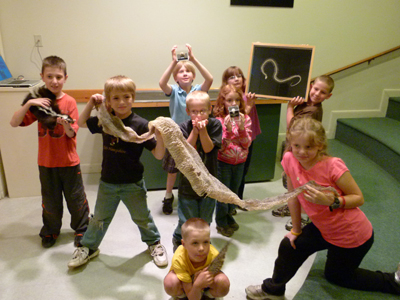 Elementary School programs at Squam Lakes Natural Science Center