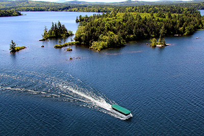 Squam Lake Cruise - by Bill Hemmel