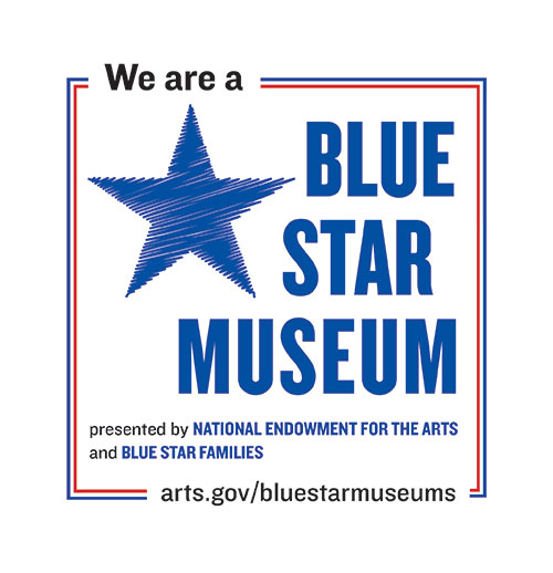 We Are a Blue Star Museum logo