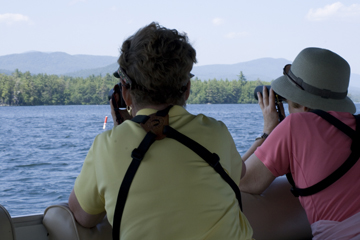 Nature of the Lakes Cruise on Squam Lake