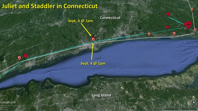 Juliet and Staddler in CT - September 9, 2015